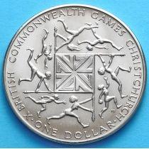 Новая Зеландия 1 Доллар 1974 год. X Игры Британского Содружества.