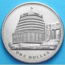 Новая Зеландия 1 Доллар 1978 год. Парламент.