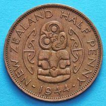 Новая Зеландия 1/2 пенни 1940-1947 год. Амулет Хей-Тики.