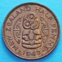 Новая Зеландия 1/2 пенни 1949-1951 год. Амулет Хей-Тики.