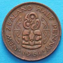 Новая Зеландия 1/2 пенни 1961 год. Амулет Хей-Тики.