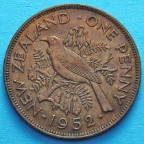 Новая Зеландия 1 пенни 1949-1952 год. Новозеландский туи.