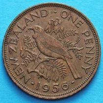 Новая Зеландия 1 пенни 1956-1965 год. Новозеландский туи.