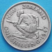 Новая Зеландия 1 шиллинг 1947 год.