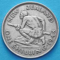 Новая Зеландия 1 шиллинг 1948 год.