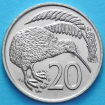 Новая Зеландия 20 центов 1967-1985 год.
