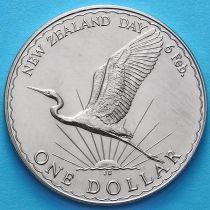 Новая Зеландия 1 Доллар 1974 год. День Вайтанги.