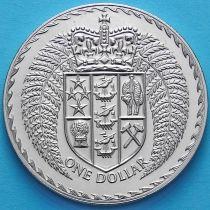 Новая Зеландия 1 Доллар 1979 год. Герб.