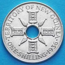 Британская Новая Гвинея 1 шиллинг 1936 год. Серебро