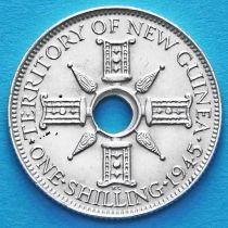 Британская Новая Гвинея 1 шиллинг 1945 год. Серебро.