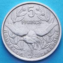 Новая Каледония 5 франков 1952 год.