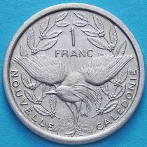 Новая Каледония 1 франк 1971 год.