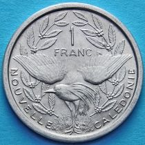 Новая Каледония 1 франк 1972-1996 год.