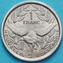 Новая Каледония 1 франк 1977 год. UNC.