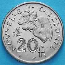 Новая Каледония 20 франков 1970 год.