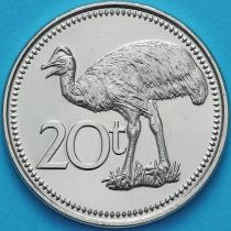 Папуа Новая Гвинея 20 тойя 2009 год.