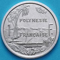 Французская Полинезия 1 франк 1986 год.