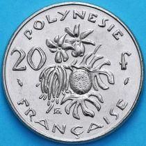 Французская Полинезия 20 франков 1984 год.