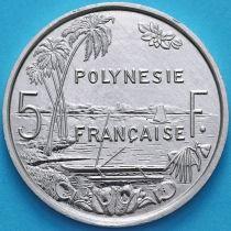 Французская Полинезия 5 Франков 1986 год.