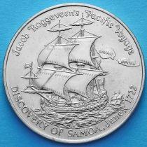Самоа 1 тала 1972 год. 250 лет открытия Самоа