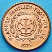 Монета Тонга 2 сенити 1975 год. ФАО