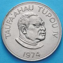 Тонга 1 паанга 1974 год.
