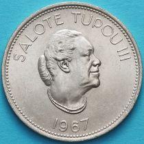 Тонга 50 сенити 1967 год. Салоте Тупоу III