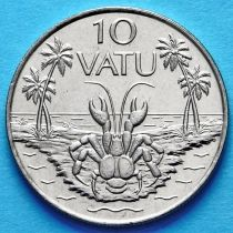 Вануату 10 вату 1995-1999 год.