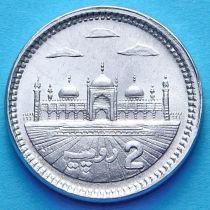 Пакистан 2 рупии 2013 год