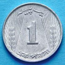 Пакистан 1 пайс 1970 год.