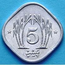 Пакистан 5 пайс 1983 - 1991 год.