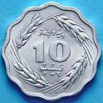Пакистан 10 пайс 1974 г.