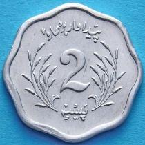Лот 10 монет. Пакистан 2 пайса 1975 год. ФАО.