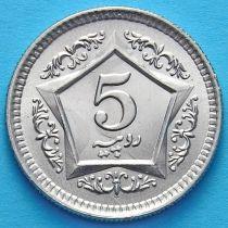 Пакистан 5 рупий 2003 год.