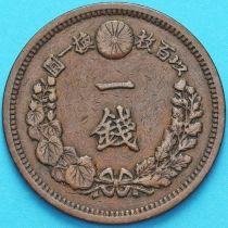 Япония 1 сен 1880 год.