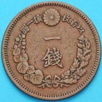 Япония 1 сен 1881 год.