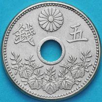 Япония 5 сен 1919 год.