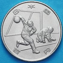Япония 100 йен 2019 год. Голбол.