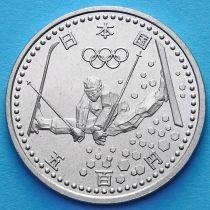 Япония 500 йен 1998 год. Олимпиада, фристайл.