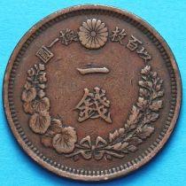 Япония 1 сен 1873-1877 год.