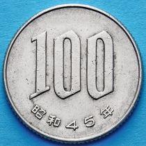 Япония 100 йен 1970 год.