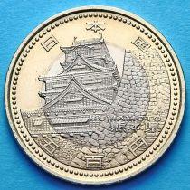 Япония 500 йен 2011 год. Кумамото