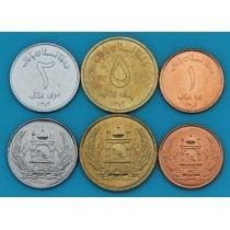 Афганистан набор 3 монеты 2004 год.
