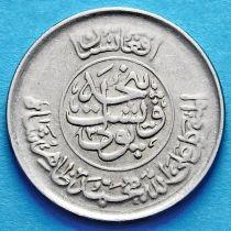 Афганистан 25 пул 1952-1955 год. Гладкий гурт.