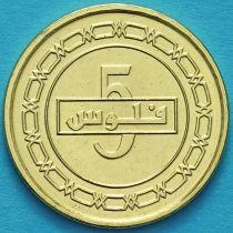 Бахрейн 5 филс 2018 год.
