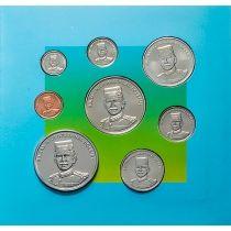 Бруней набор 8 монет 1994 год. 10 лет независимости.
