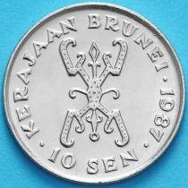 Бруней 10 сен 1987 год.
