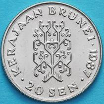 Бруней 20 сен 1987 год.