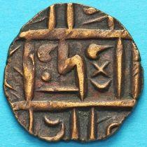 Бутан 1/2 рупии 1820-1840 год. km4.2