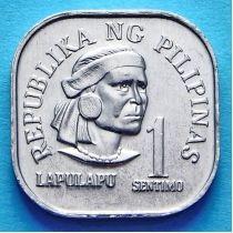 Филиппины 1 сентимо 1975-1978 год.
